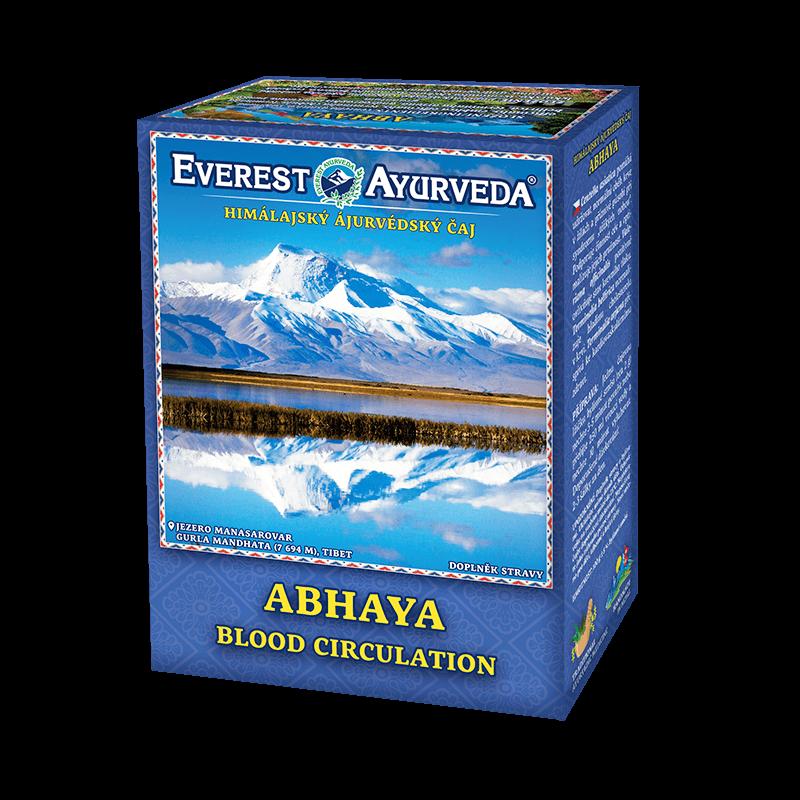 ajurvédsky čaj abhaya proti kôrnateniu tepien a kŕčovým žilám