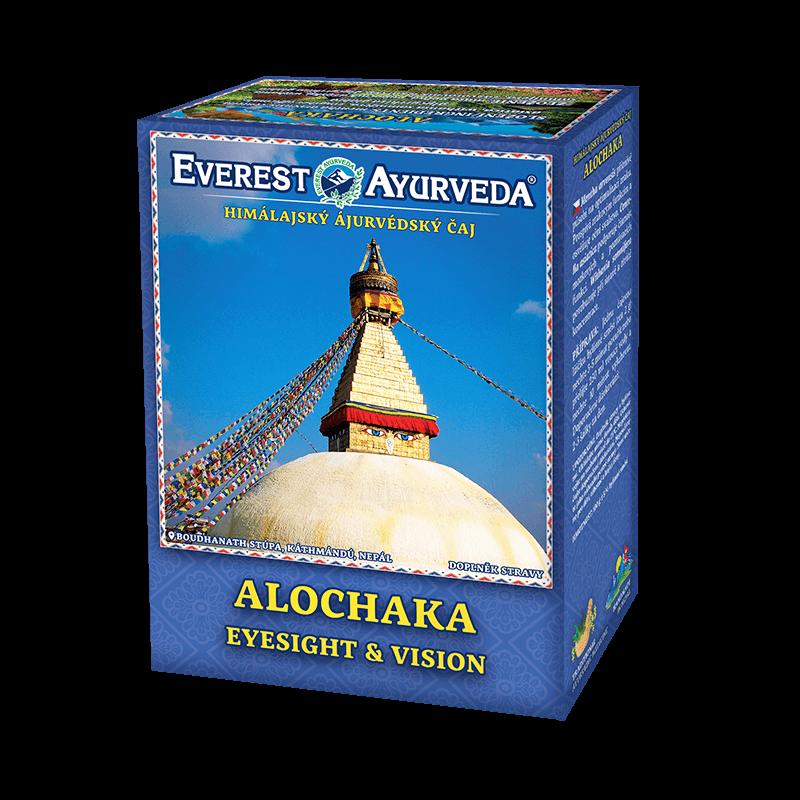 ajurvédsky čaj alochaka na oči a zrakové funkcie