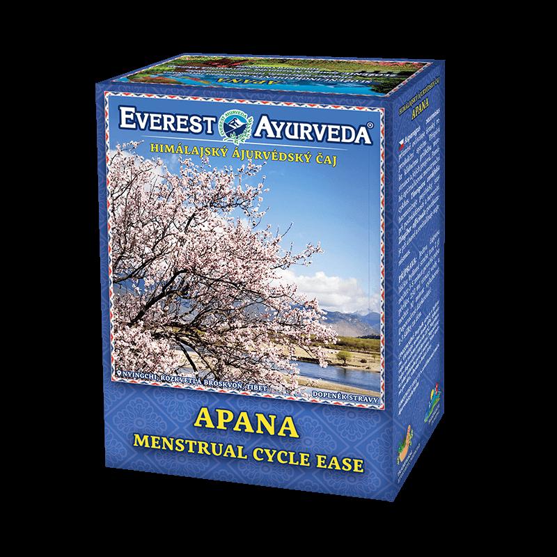 ajurvédsky čaj apana menštruačný čaj