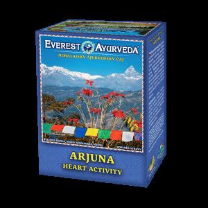 ajurvédsky čaj arjuna srdcová činnosť