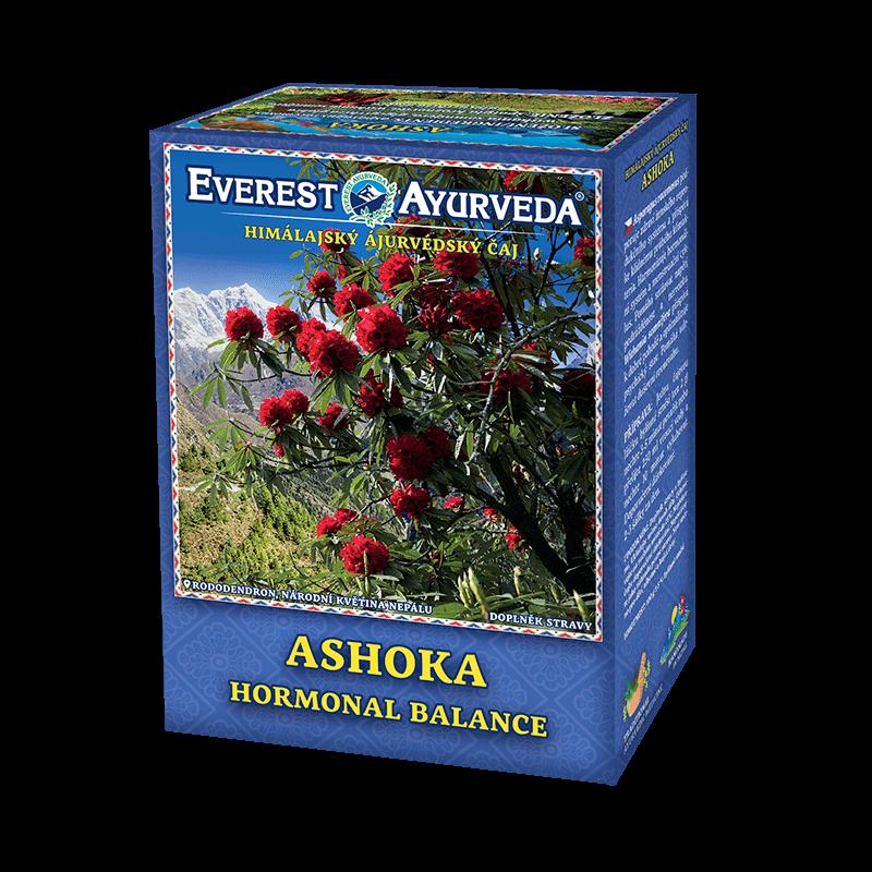 ajuvérdsky čaj ashoka na hormonálnu rovnováhu pri menopauze