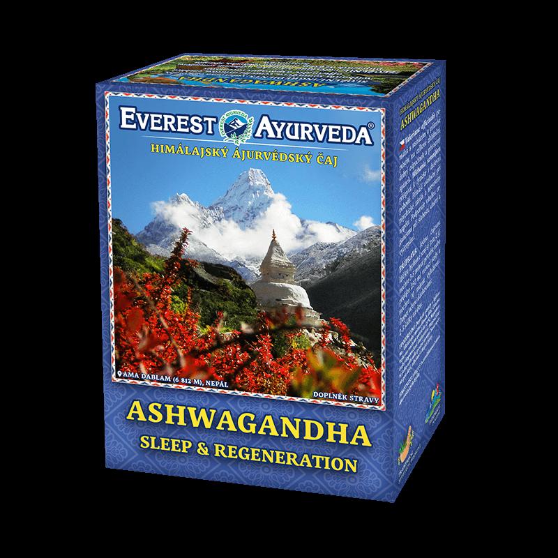 ajurvédsky čaj ashwagandha na spánok a regeneráciu