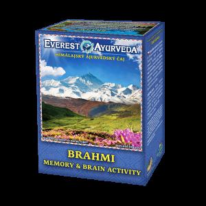ajurvédsky čaj brahmi na pamäť a mozgovú činnosť