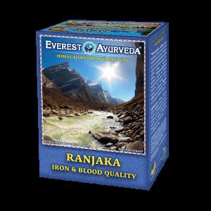 ajurvédsky čaj ranjaka na chudokrvnosť a kvalitu krvi