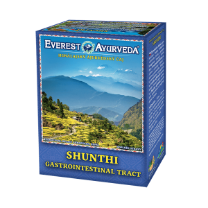 ajurvédsky čaj shunthi na žalúdok a črevá