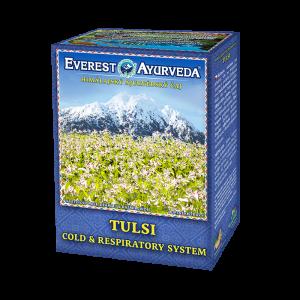 ajurvédsky čaj tulsi na nachladnutie a dýchacie cesty