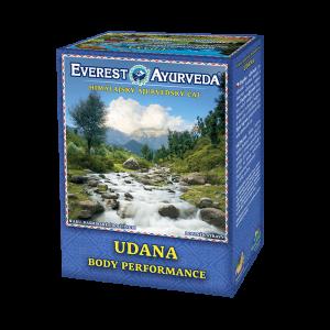 ajurvédsky čaj udana na podporenie fyzickej kondície
